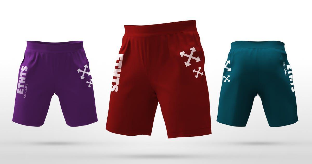 Download Athletic Shorts Mockups By Stockware On Envato Elements Athletic Shorts Hoodie Mockup Mockup Design
