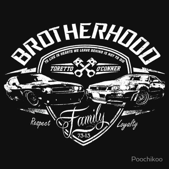 Fast And Furious Brotherhood Uni T Shirt