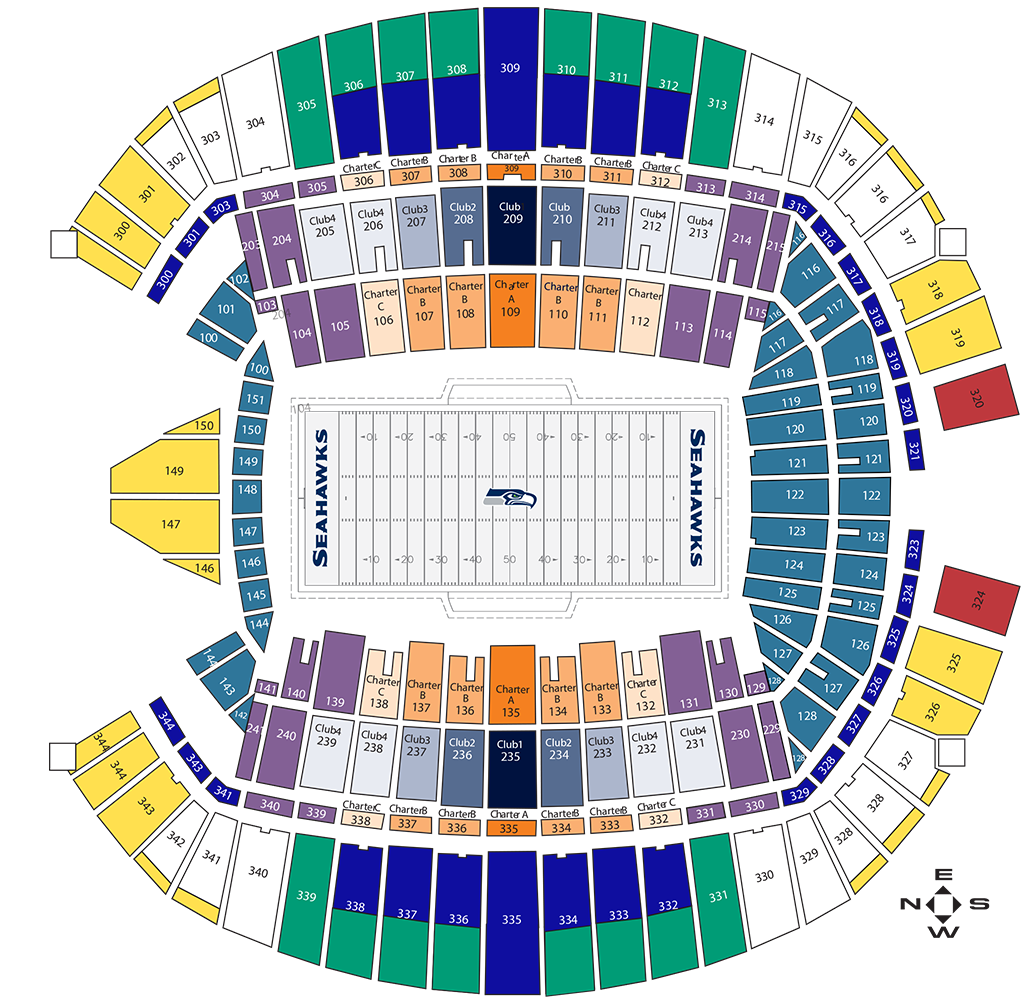 Rams Tickets Seating Chart