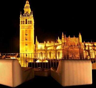 La terraza del eme hotel es uno de los lugares m s encantadores de sevilla para tomarse una copa - Terraza hotel eme ...