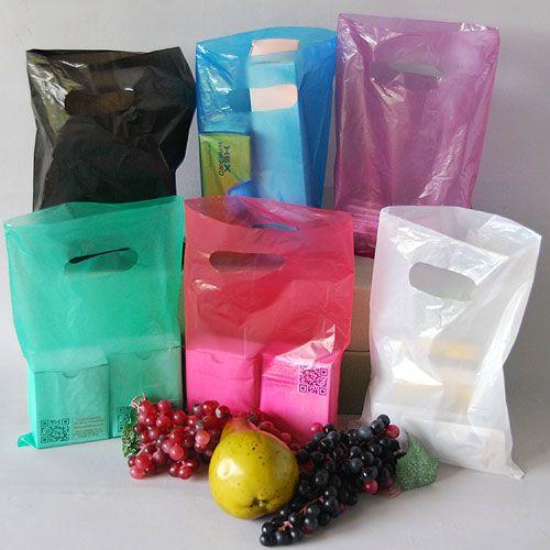 Regular Merchandise Bags | Die Cut Handle Bags | Fetpak, Inc