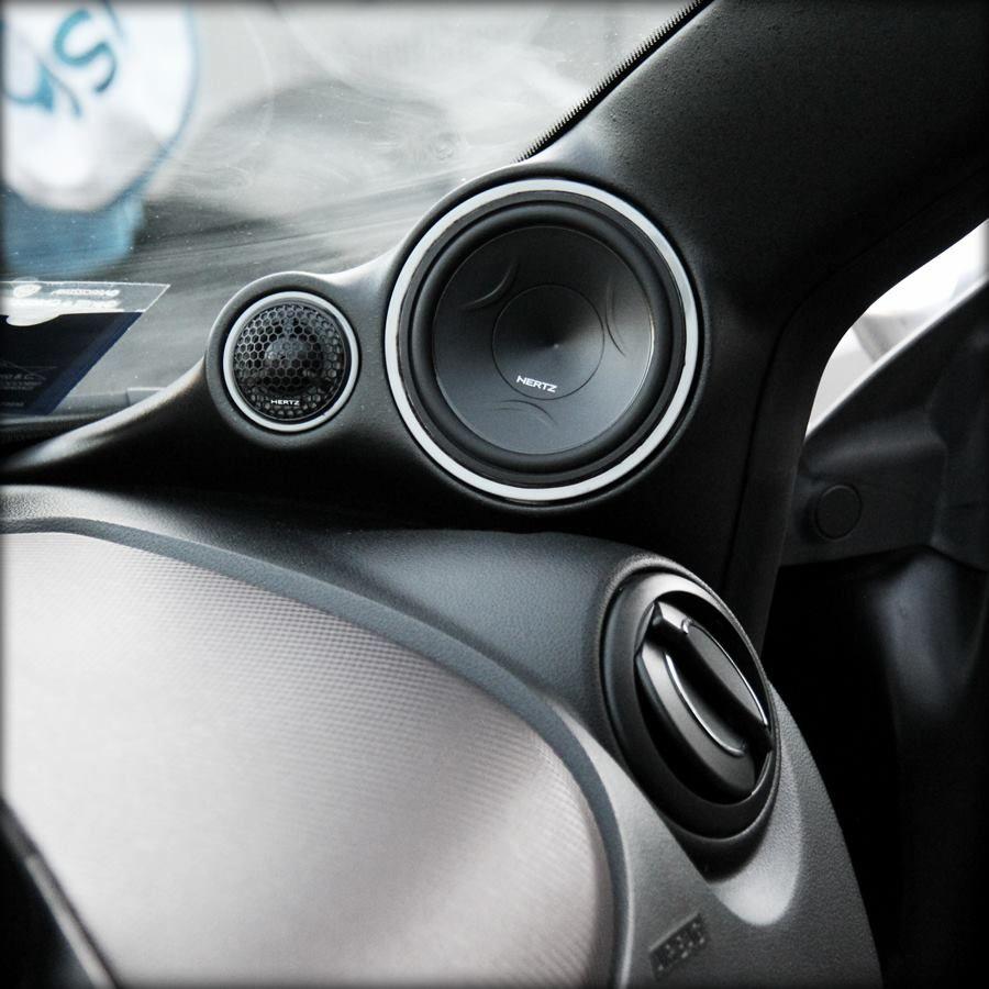 Hertz Car Audio Custom A Pillars Car Audio Installation Car Audio Systems Custom Car Audio