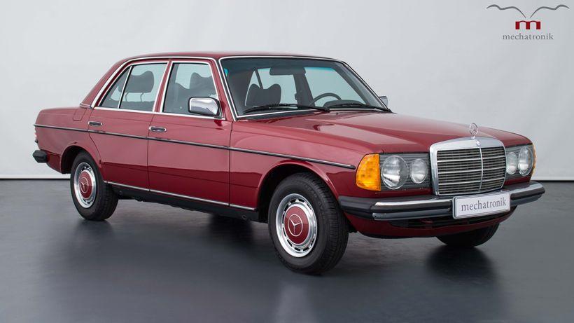 mercedes benz w 123 240d limousine front mercedes benz. Black Bedroom Furniture Sets. Home Design Ideas
