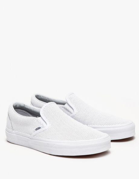 3aa974be33788e Vans   Classic Slip-On in White
