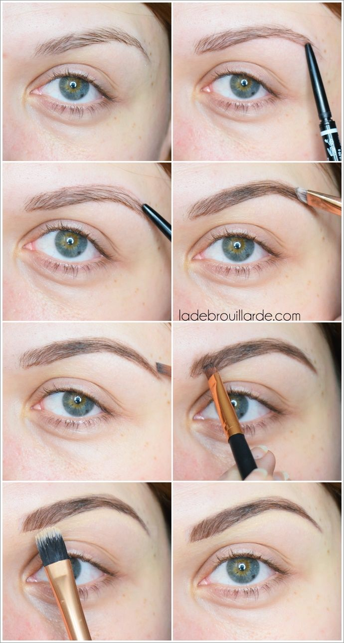 Fabuleux tutoriel maquillage sourcils instagram brow make up tuto diy  RB21