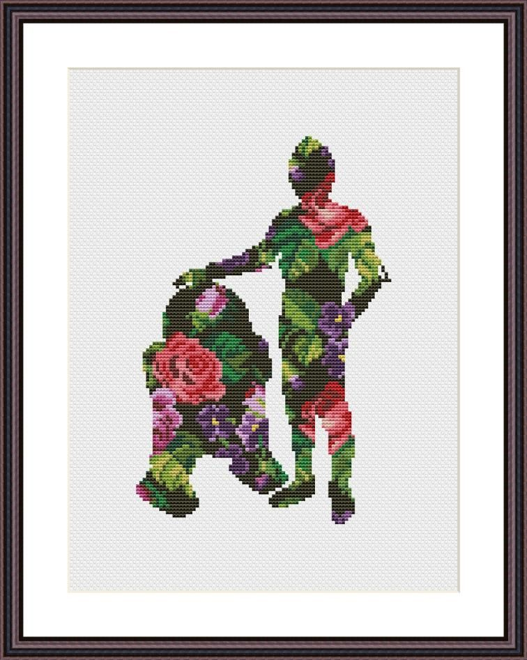 Star Wars Cross Stitch Pattern Floral Droids   Patchwork   Pinterest ...