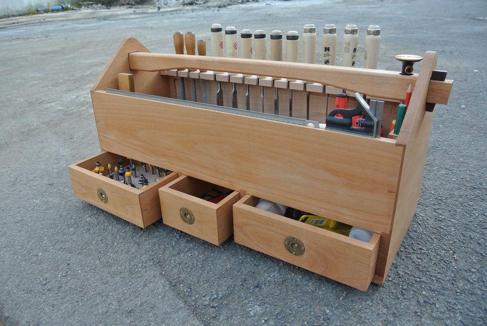 werkzeugkiste aus buche woodwork werkzeugkiste. Black Bedroom Furniture Sets. Home Design Ideas