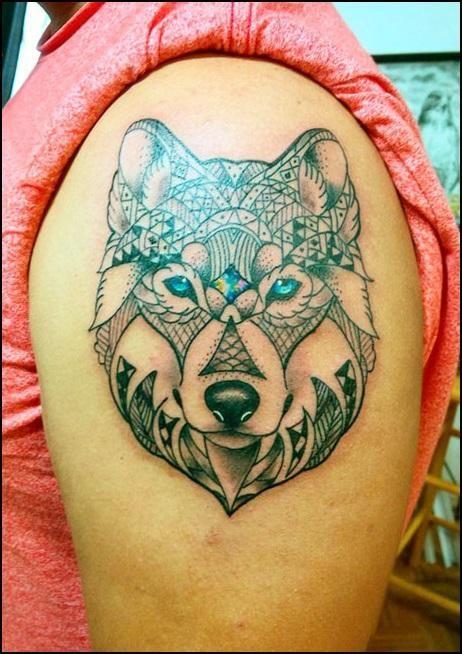 Los mejores tatuajes de Tatuajes de Lobos tatuaje Pinterest