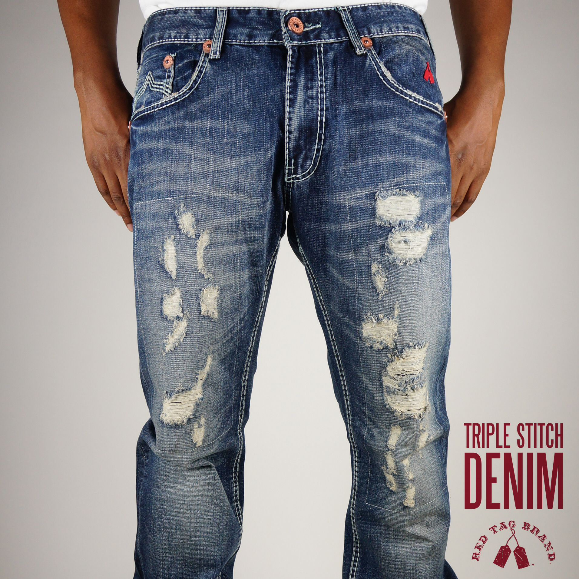Triple Stitch #Denim Jean by Red Tag Brand Available Online Friday ...