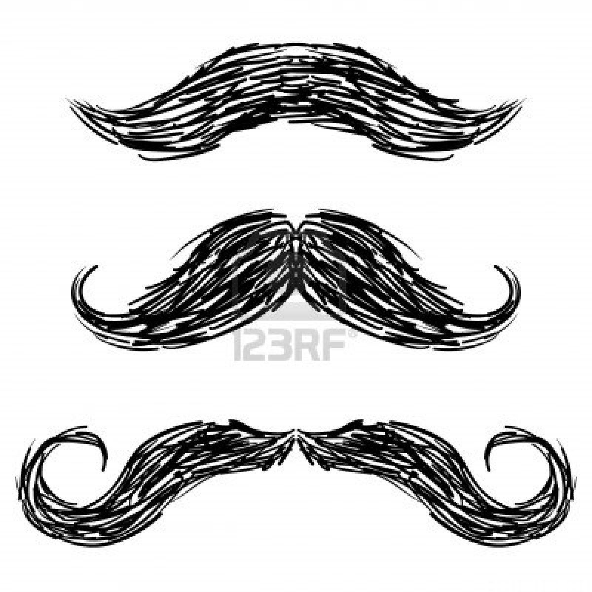 Mustache doodles, Like a Boss