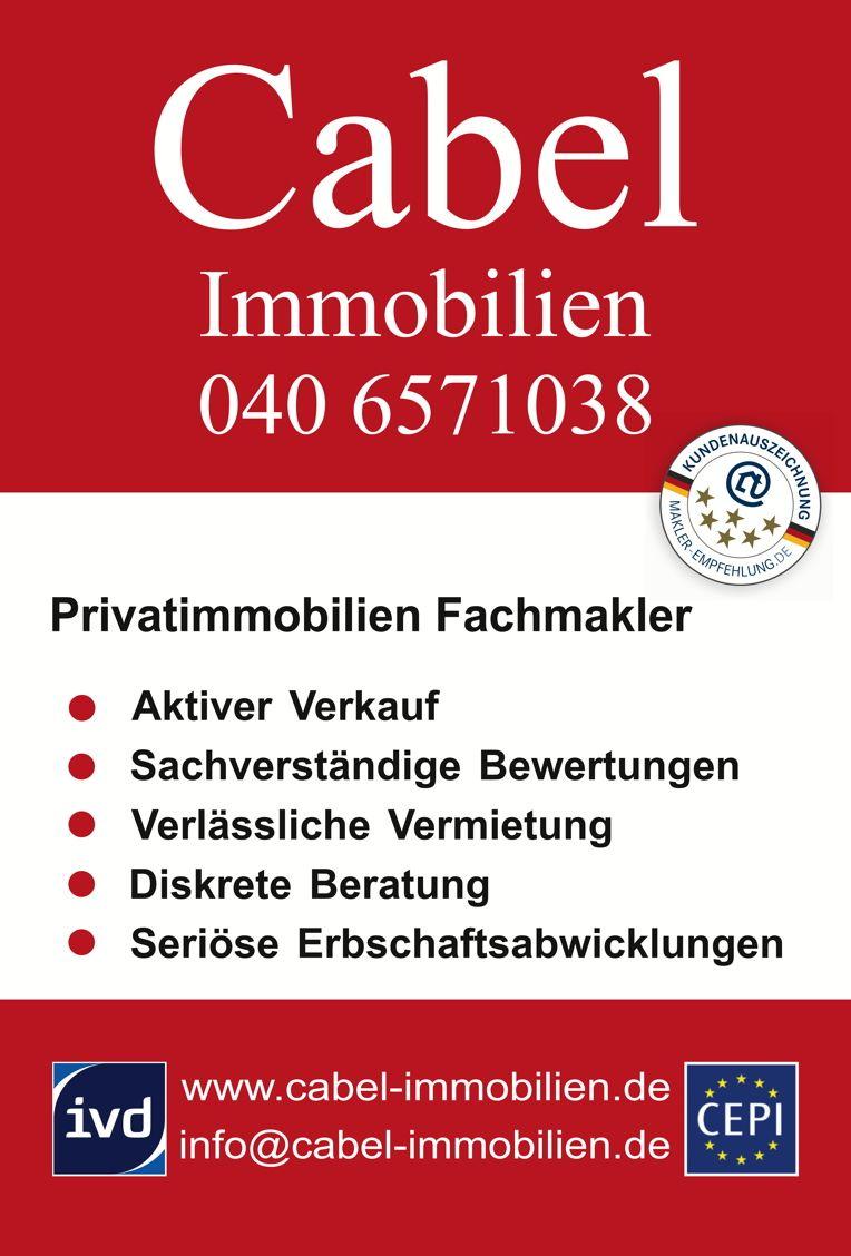 Immobilienmakler Lemsahl-Mellingstedt www.cabel-immobilien.de Verkauf Vermietung Bewertung