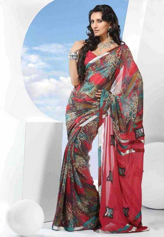 sarees are capturing the hearts of the Western World. Each saree is normally six yards in length and some come in nine yard lengths too, varying in width. http://www.bdcost.com/saree