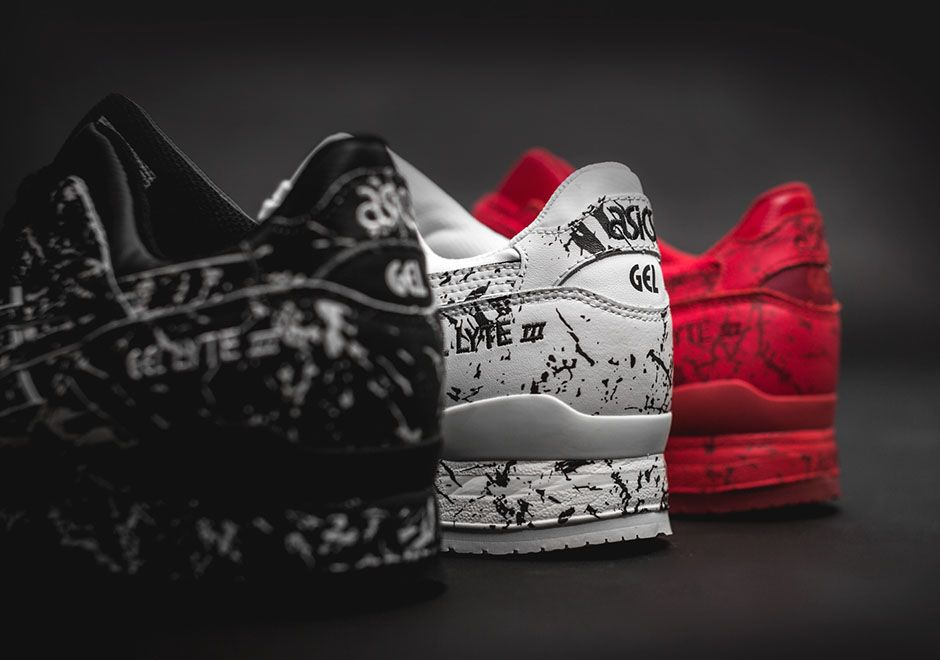 Asics Gel Lyte Iii Marble Injection Pack Sneakernews Com Gel Lyte Iii Asics Gel Lyte Iii Gel Lyte