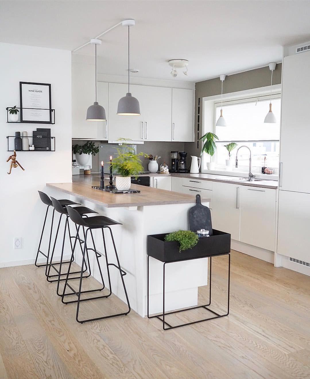 Scandinavian Kitchendesign Ideas: Love The Gorgeous Kitchen Of @happy_habitat Large Ferm
