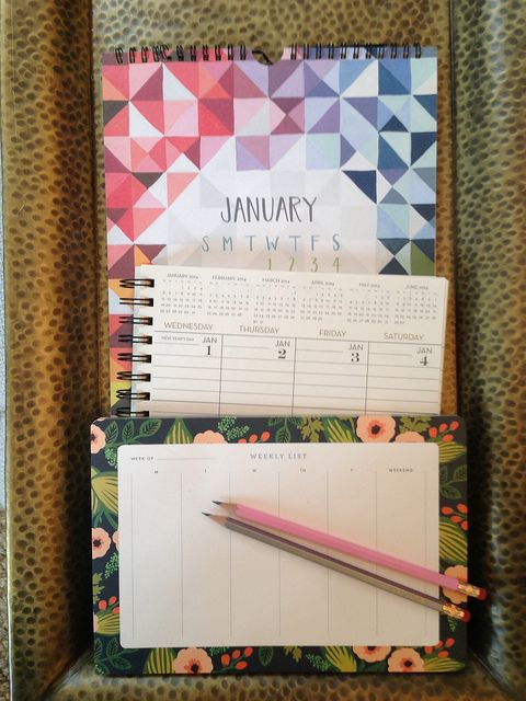 calendars from #wastenotpaper #1canoe2 #riflepaperco
