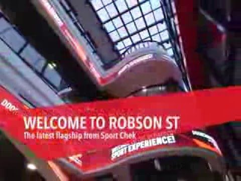 Sport Chek Robson Street Flagship Store