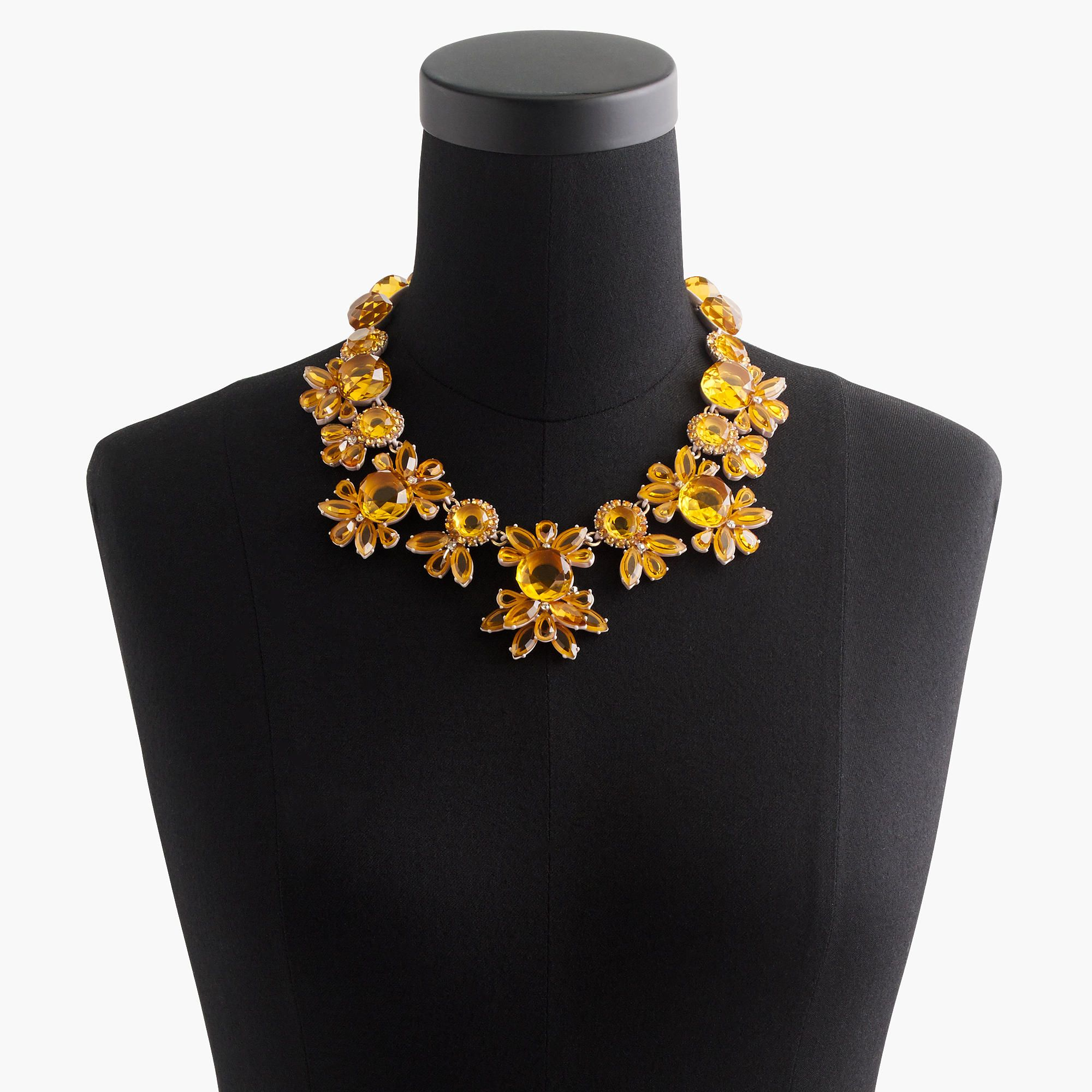 Sunshine crystal necklace