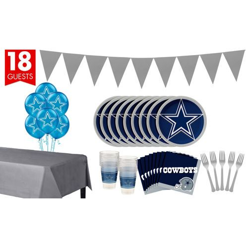 Super Dallas Cowboys Party Kit for 18 Guests Party City 4dcc51807