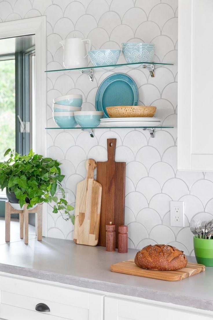 Idée Couleur Cuisine Blanche deco couleur cuisine blanche | idée déco cuisine, dosseret