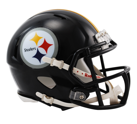Pittsburgh Steelers Authentic Nfl Full Size Helmet Steelers Helmet Football Helmets Football Helmets For Sale
