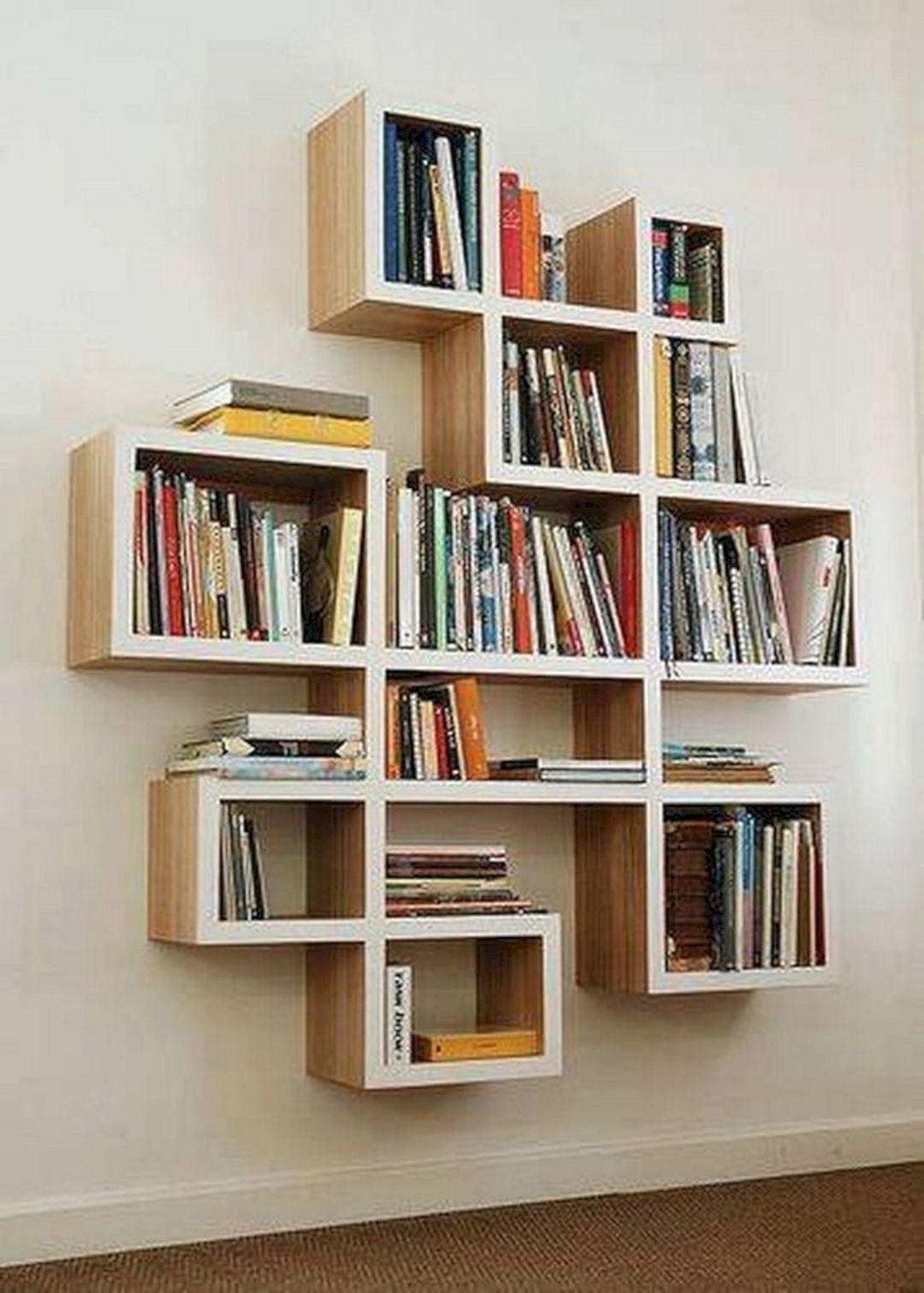 12 unique diy bookshelf ideas for best home organization