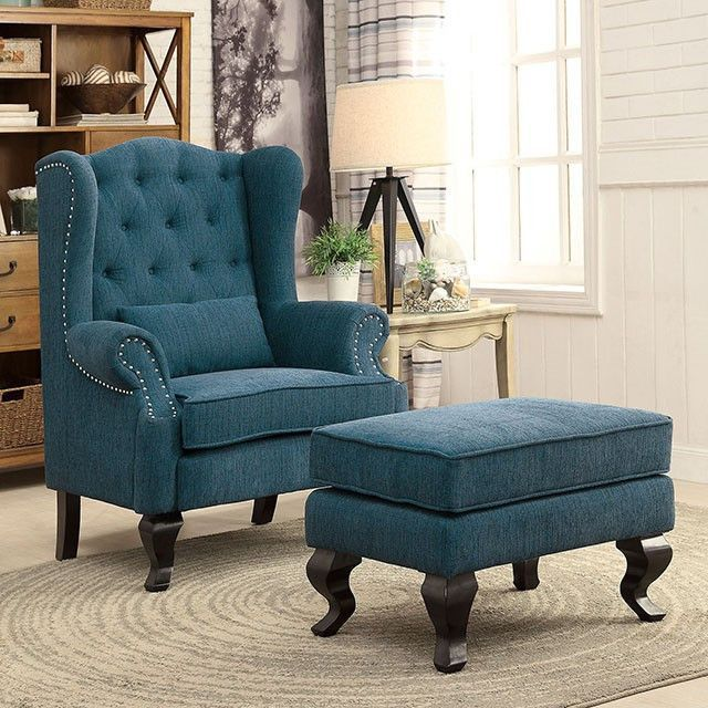 Willow dark teal accent chair cm ac6271 products - Dark teal accent chair ...
