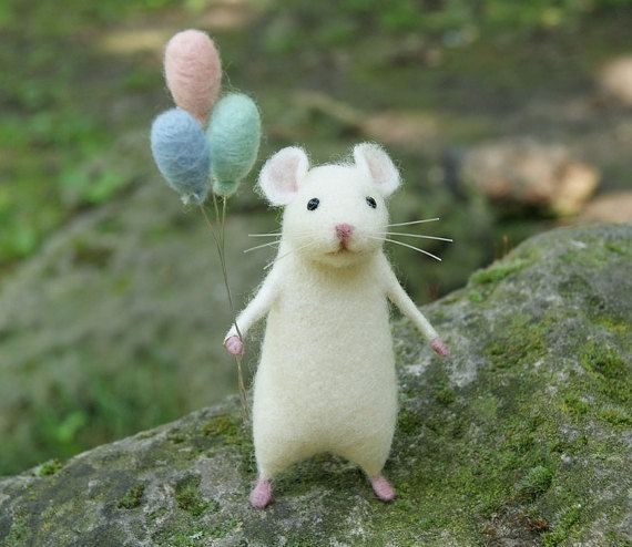Image result for cute mice Book Cover Project Needle felted