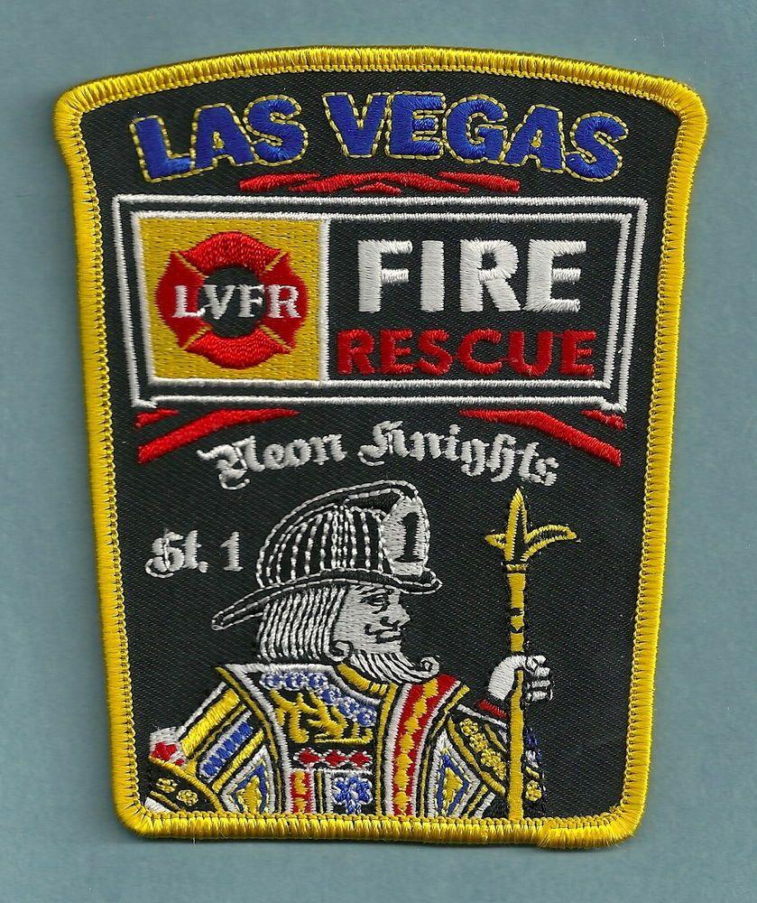 LAS VEGAS NEVADA  STATION 1 COMPANY FIRE PATCH