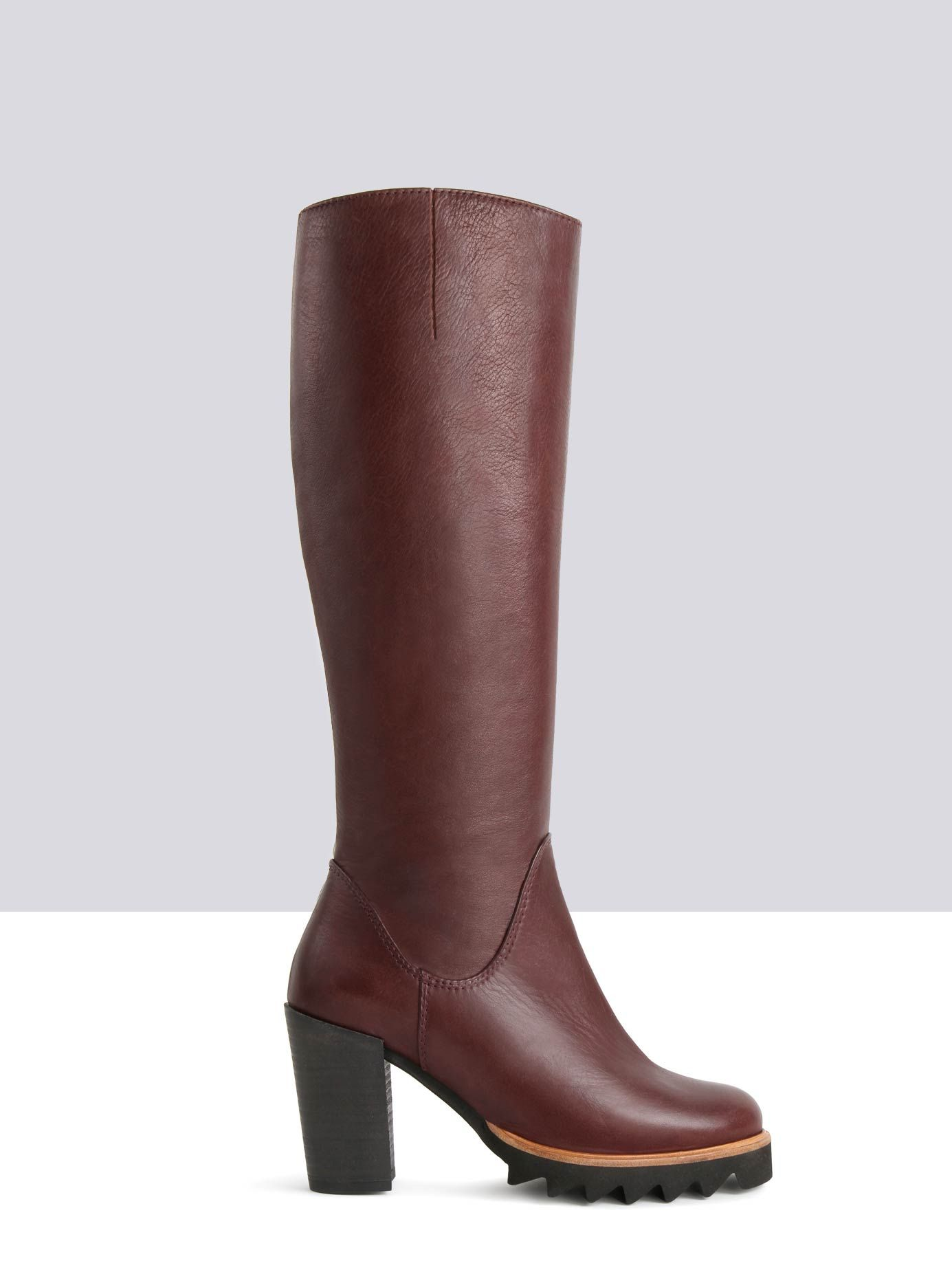 544056bf431a Regimentals - Knee High Boots in Black Leather by Ted and Muffy US ...