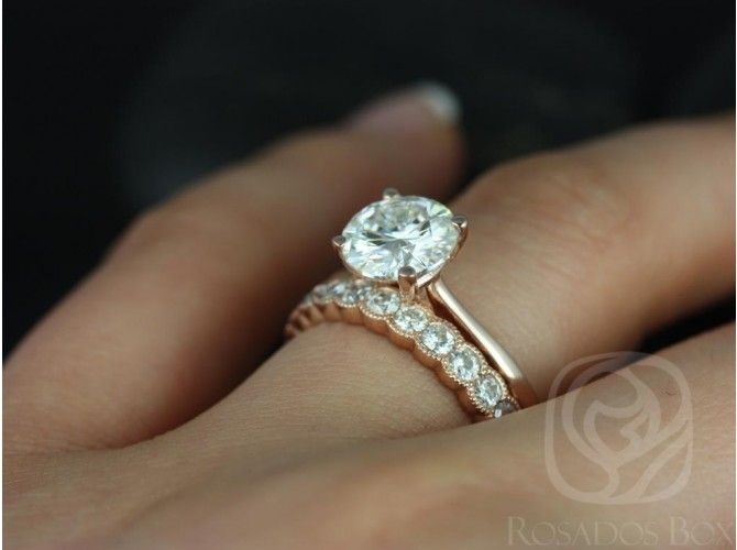 Solitaire Wedding Set Gold Google Search