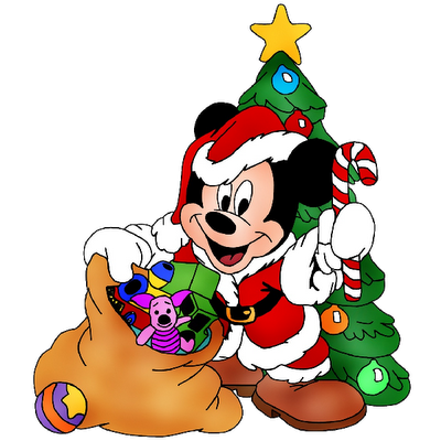 baby christmas clipart Christmas Mickey Mouse Cartoon