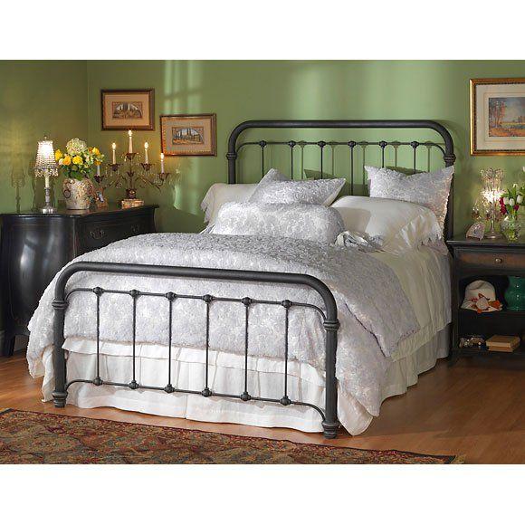 Wesley Allen Braden Queen Headboard Iron Bed Bed Queen Iron Bed