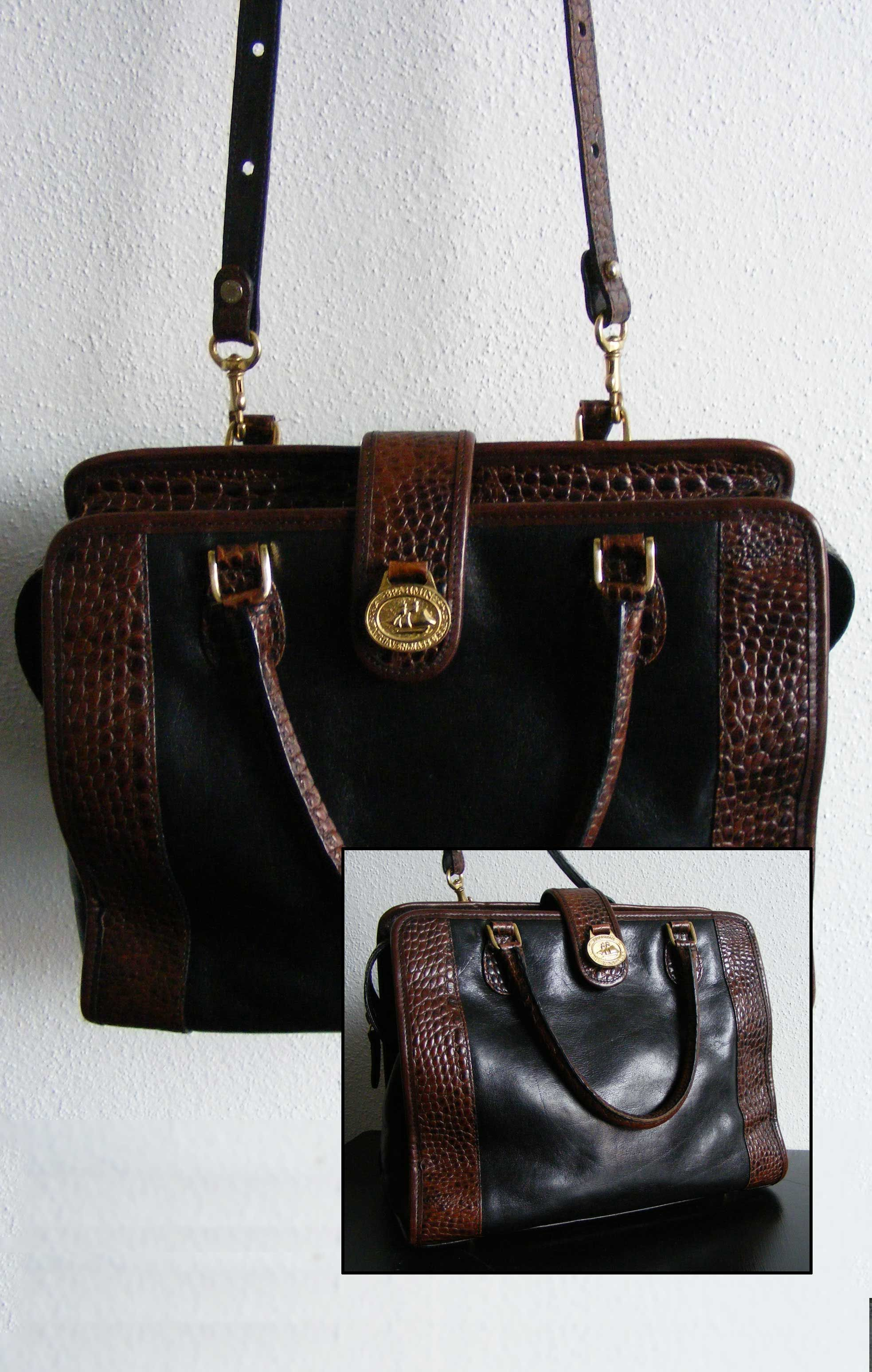 Cool Vintage Brahmin Handbag Sold Handbags Designer Totes On