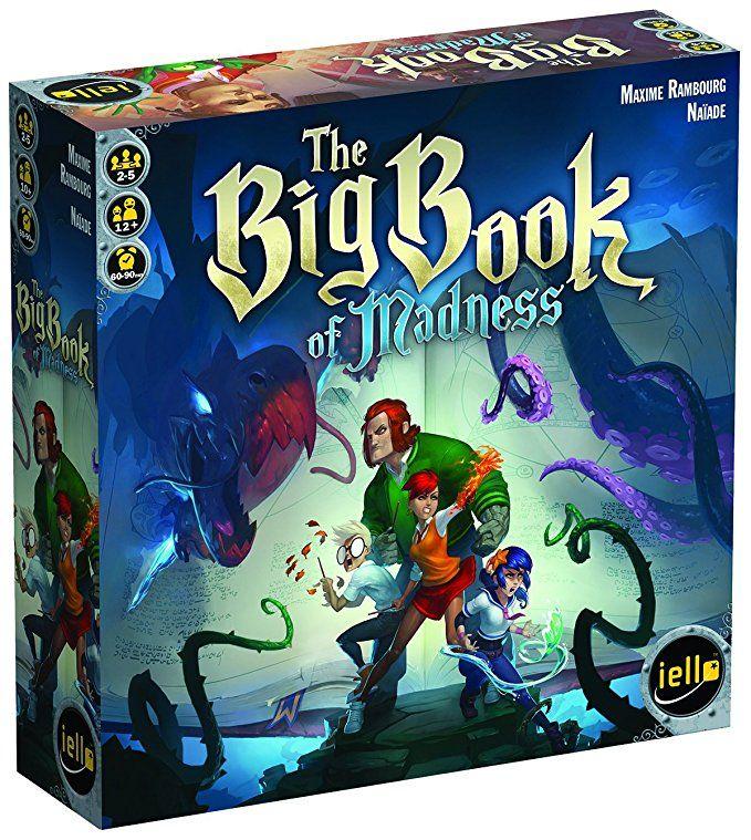 The Big Book of Madness Board Game Big book, Board games