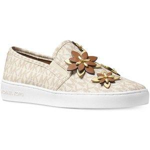 Michael Michael Kors Heidi Mk Logo Slip-On Sneakers