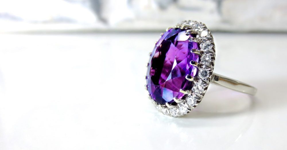 Just look, that`s outstanding! #amethyst #white #gold #diamond