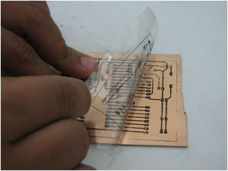 How to make a PCB at home | DIY Projects | Pinterest | Step guide ...