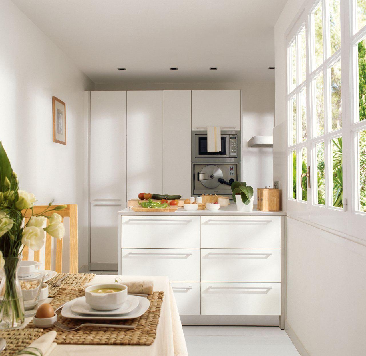 Cocinas mini muy pr cticas superficie de trabajo for Cocinas pequenas y practicas