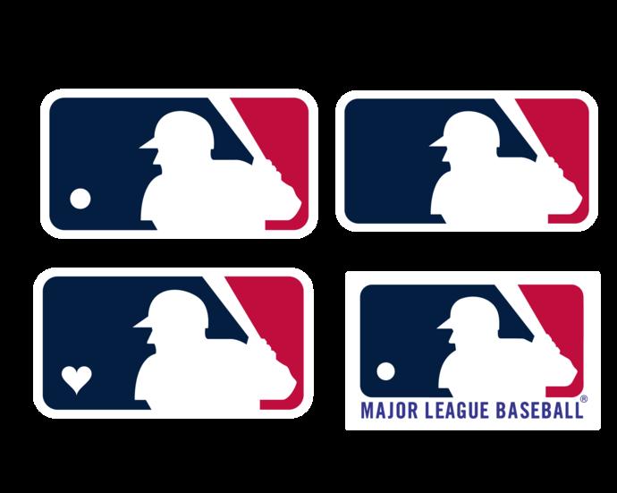 Mlb Baseball Logo Bundle Svg Png Digital Includes Optional White Background By Svgbundleshop 3 99 Usd Logo Bundle Mlb Baseball Logo Svg