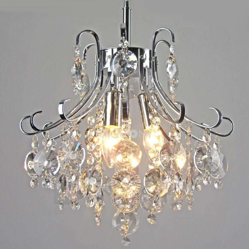 US $ 199.99 only with one product of Chandeliers on sale, buy Crystal Pendant Lights Metal Base with 3 Lights right now on Paccony.com.