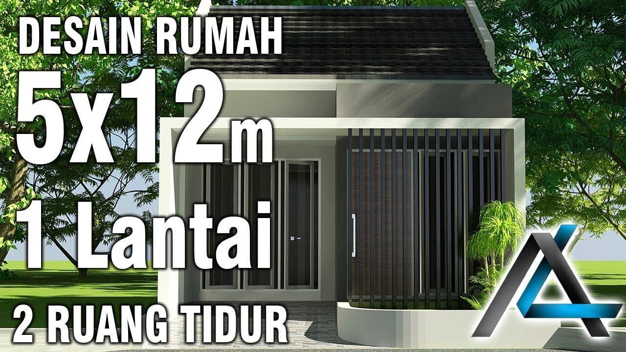 Desain Rumah Minimalis Ukuran 5x12 1 Lantai Modern House Plans Small Modern House Plans Small Modern Home