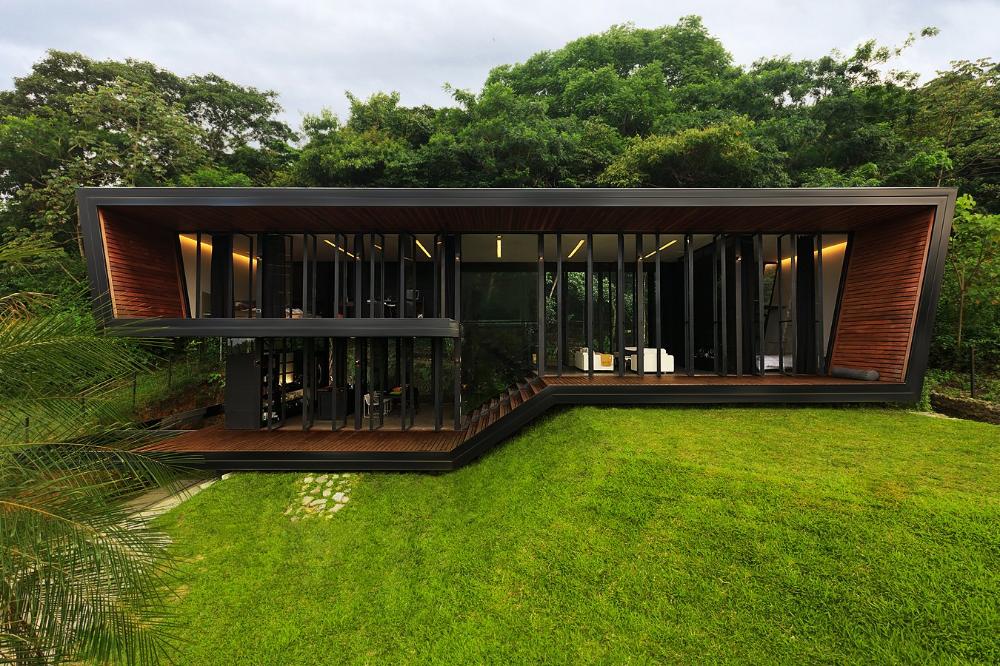 Harmonia 130 1a Minimalist Architecture Narrow Lot House Plans Architecture House