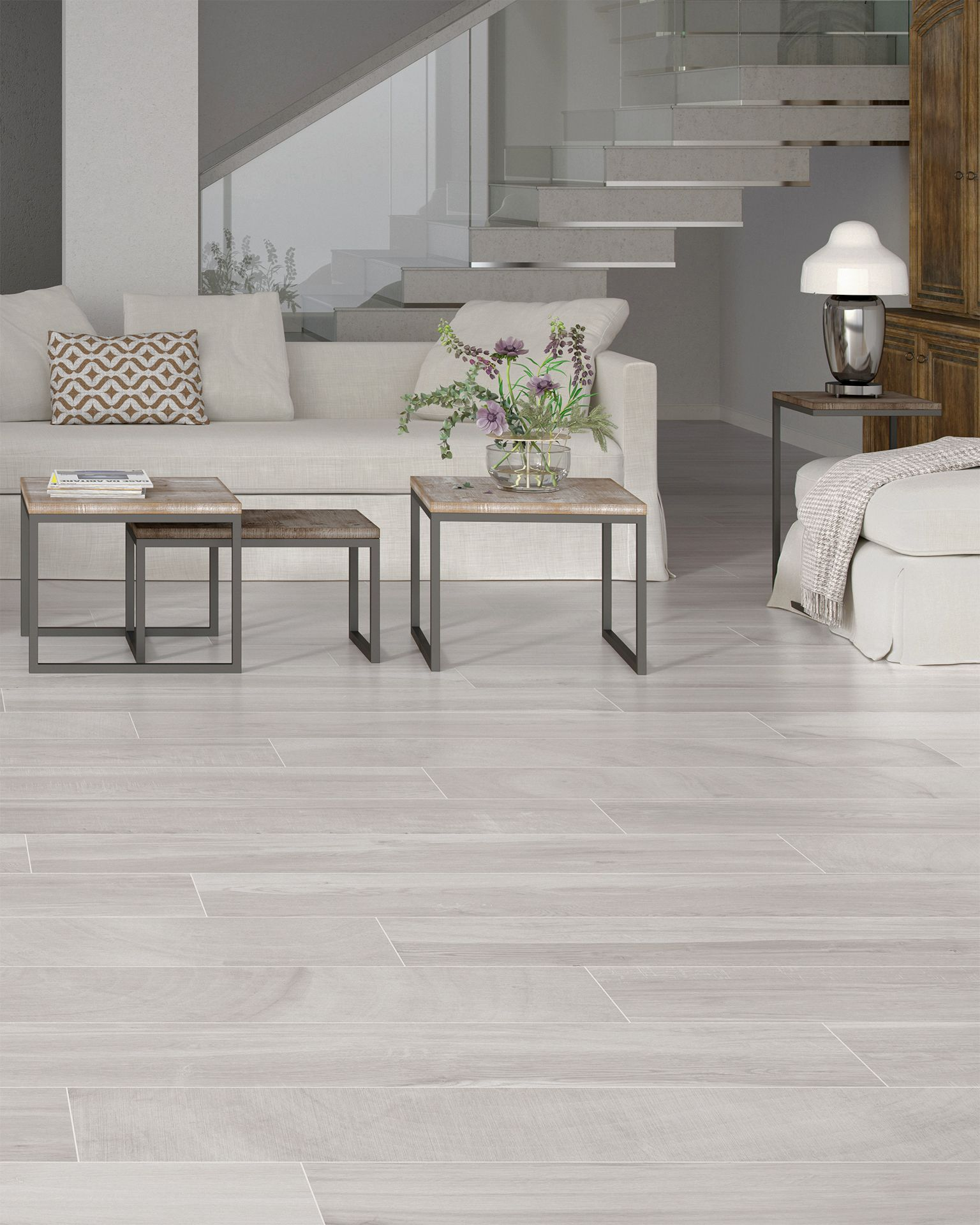 Keln Taupe 9 X 48 Porcelain Wood Look Tile In 2020 Wood Look