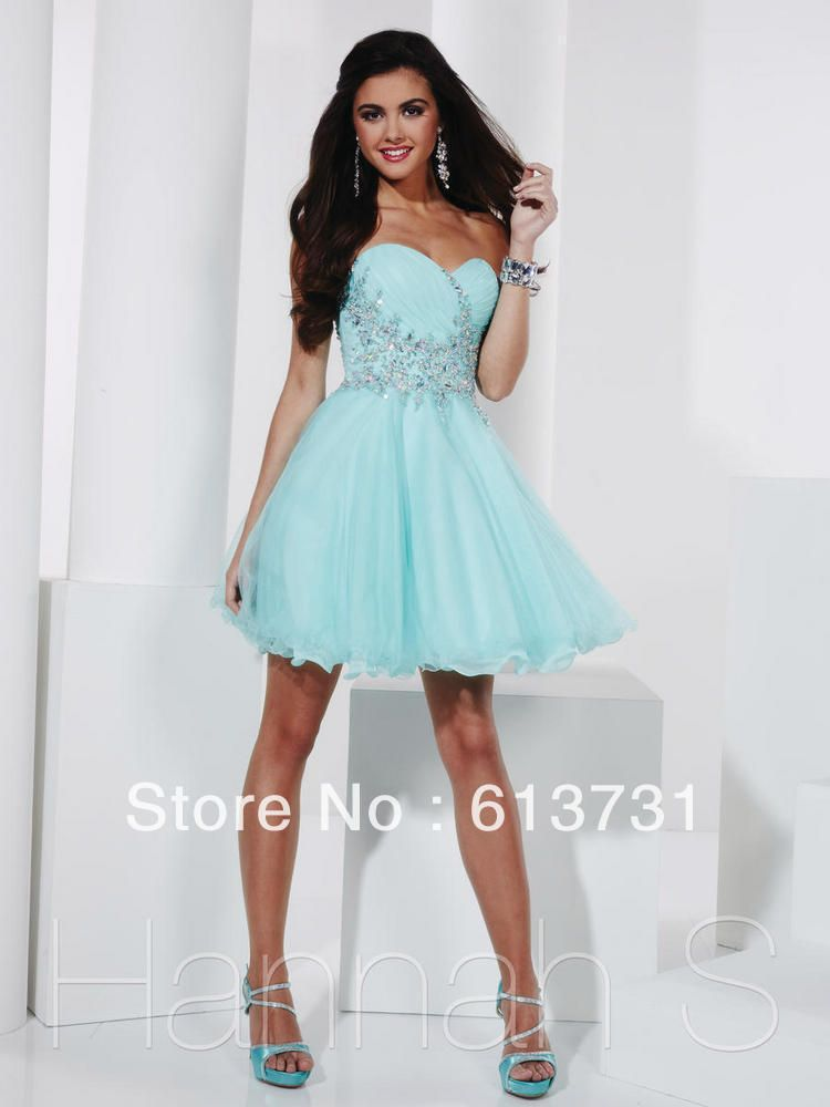 Light Blue Homecoming Dresses Photo Album - Klarosa