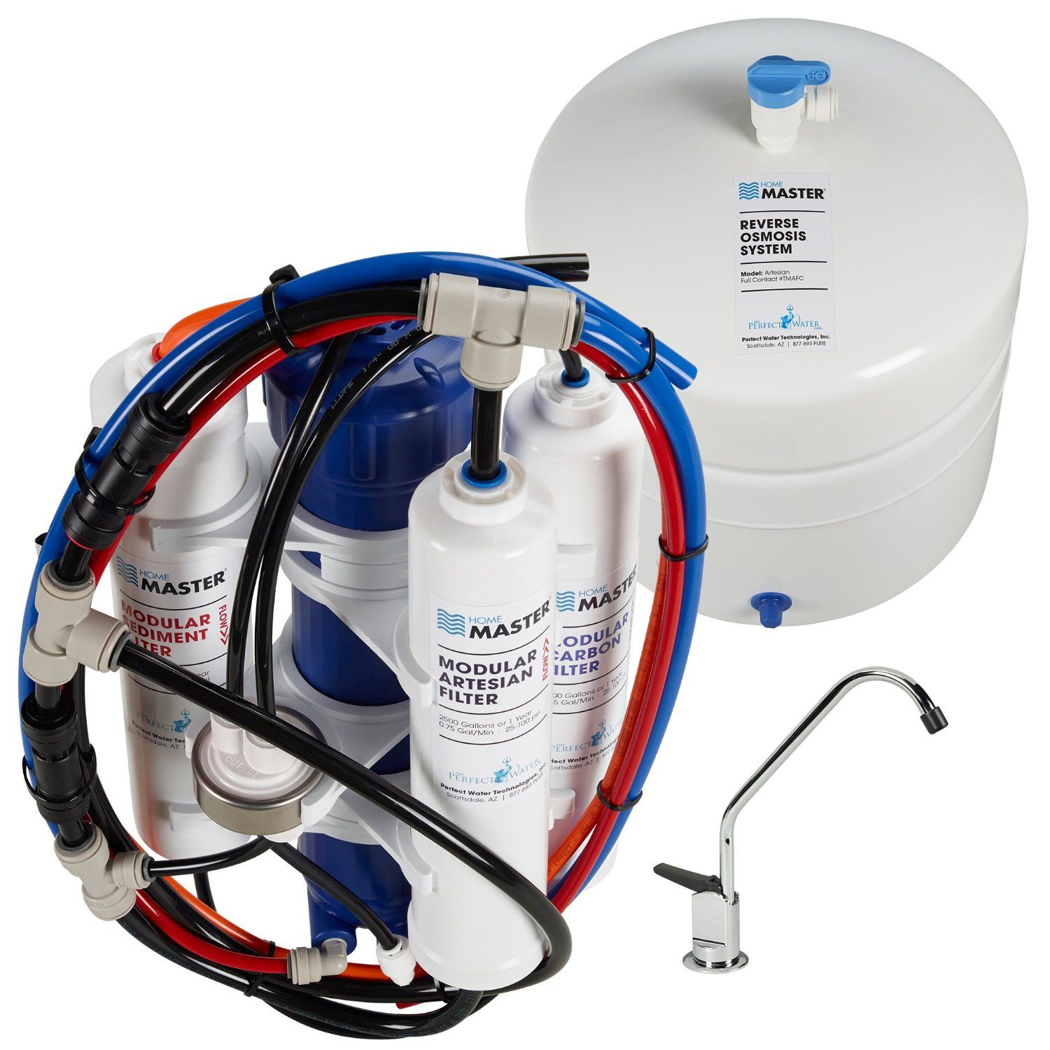 Home Master Artesian Reverse Osmosis System review