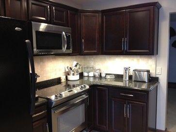 Cherry Java Kitchen Cabinets Shenandoah Breckenridge Contemporary