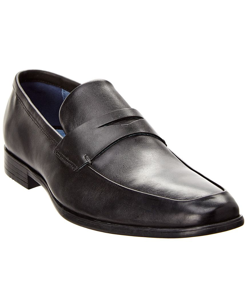 44513454ddb GORDON RUSH RUSH BY GORDON RUSH LEATHER PENNY LOAFER.  gordonrush  shoes