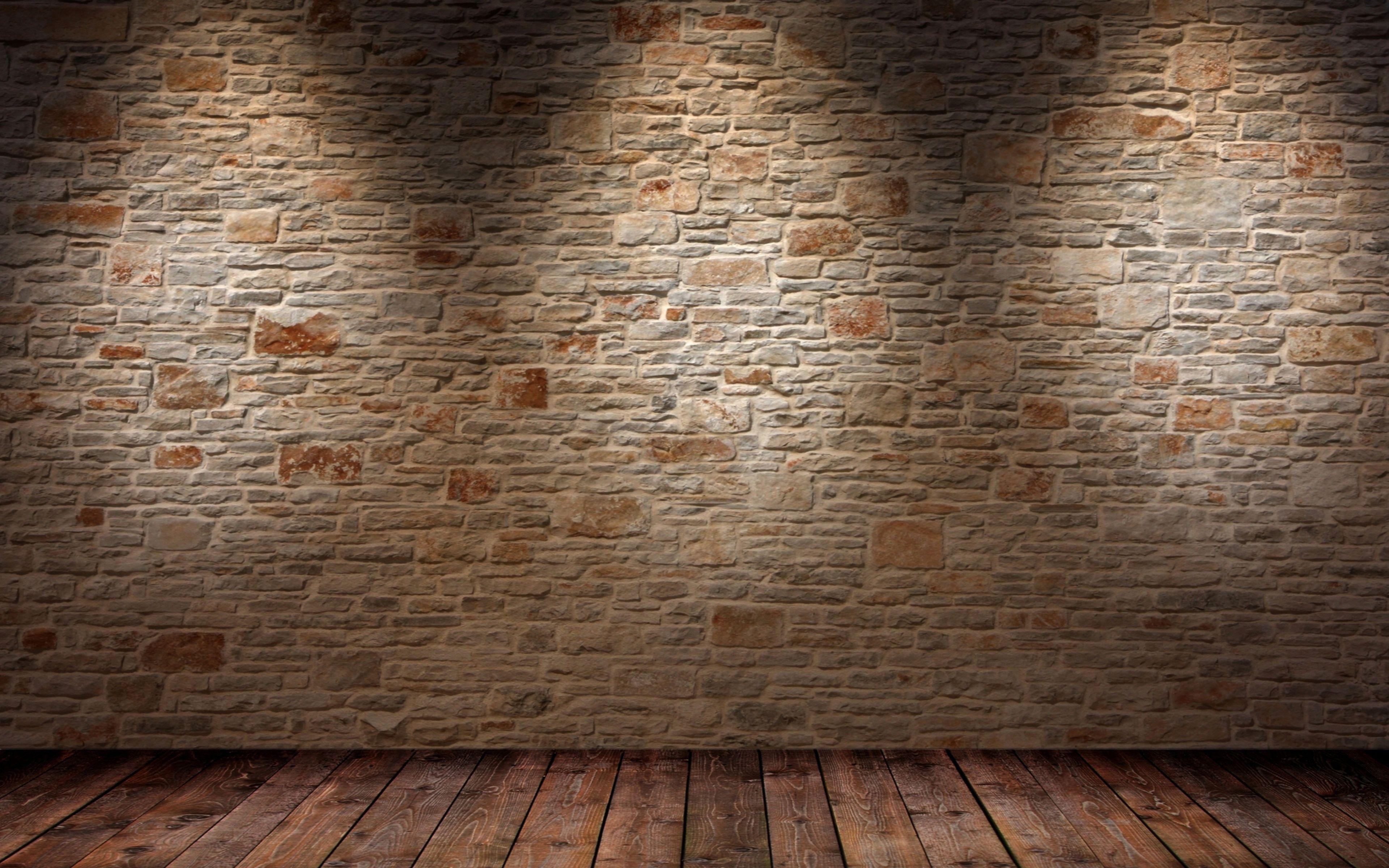 3840x2400 Обои стена, пол, свет, тень, поверхность