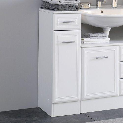Brayden Studio Tysen 25cm X 84cm Free Standing Cabinet Under Sink Storage Unit Under Sink Storage Free Standing Cabinets