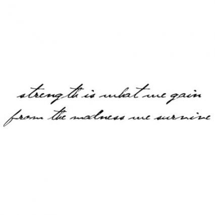 Photo of 65  ideas quotes tattoo thigh life